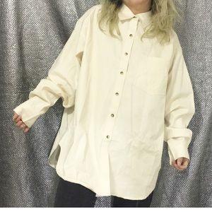 Brand new / PTNY ivory cotton shirts